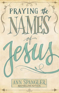 paperback cover of Praying the Names of Jesus