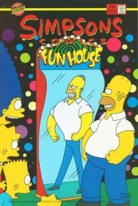 Homer Simpson looks better in a funhouse mirror.