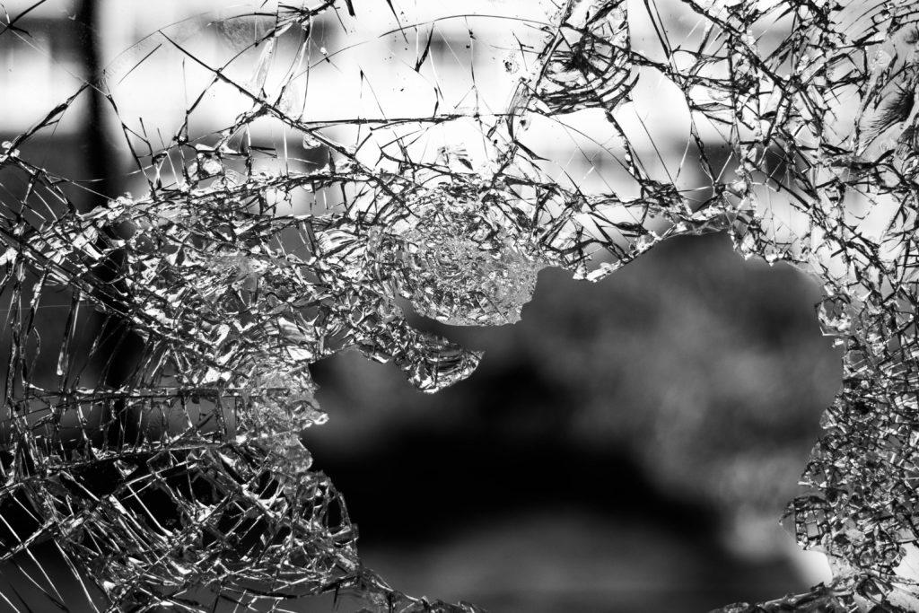 An image of broken glass.